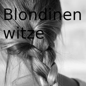 Blondinenwitze Party-Sprüche